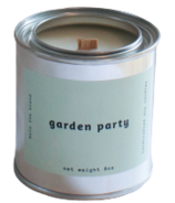 Mala The Brand Soy Candle Garden Party