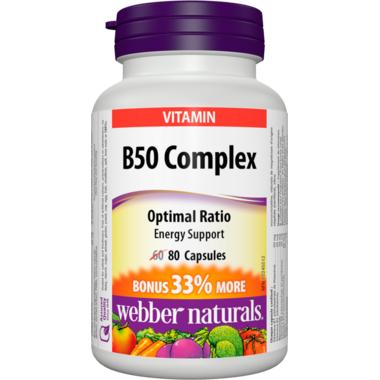 Webber Naturals B50 Complex