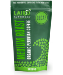 Laird Superfood Medium Roast Decaf Organic Peruvian Ground Bean Coffee