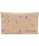 SoYoung Fuchsia & Gold Splatter Sweat-Proof Ice Pack