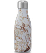 S'well Elements Collection Stainless Steel Water Bottle Calacatta Gold