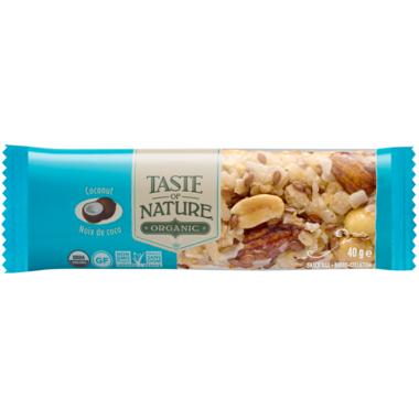 Taste of Nature Exotics Organic Food Bars