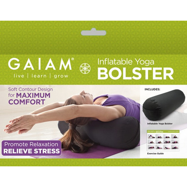 buy gaiam inflatable yoga bolster at wellca  free