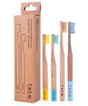 f.e.t.e. Bamboo Toothbrush Family Pack