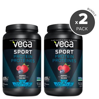 Vega Sport Protein Berry Flavour 2 Pack Bundle