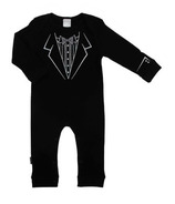 Kushies Unionsuit Black