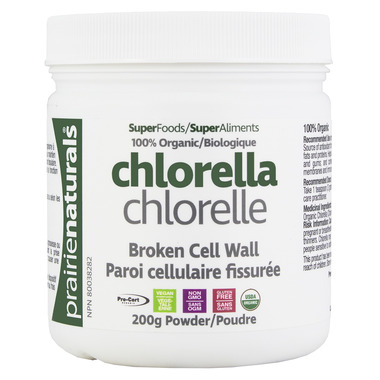 Prairie Naturals Organic Chlorella Broken Cell Wall