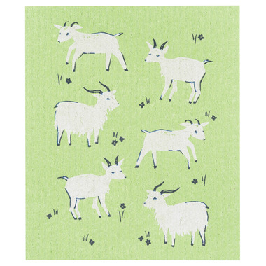 Now Design Swedish Goats Dishcloth