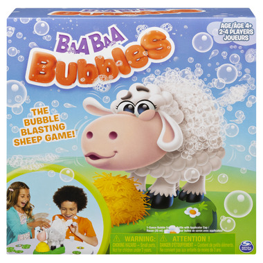 Spin Master Games Bubble-Blasting Game with Interactive Sneezing Sheep