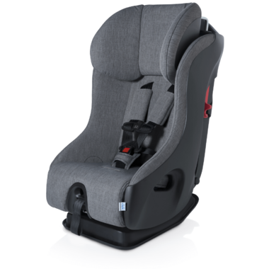Clek Fllo Convertible Car Seat with Anti-Rebound Bar in Thunder