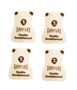 Happy Wax Car Cub 4-Pack Vanilla Sandalwood
