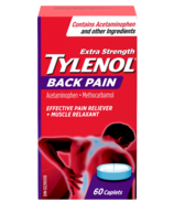 Tylenol Back Pain Reliever & Muscle Relaxant