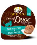 Wellness Divine Duos Tuna Pate & Diced Salmon