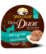Wellness Divine Duos Tuna Pate & Diced Salmon