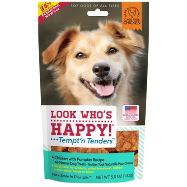 Look Who\'s Happy Chicken & Pumpkin Crusted Dog Treats
