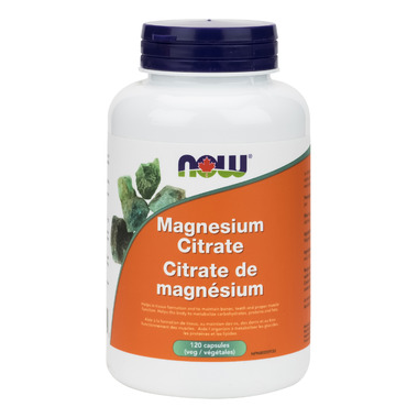 NOW Foods Magnesium Citrate 167 mg