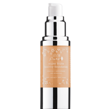 100% Pure Fruit Pigmented Healthy Foundation