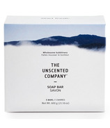 The Unscented Company Unscented Soap Bar Vegetable Glycerin