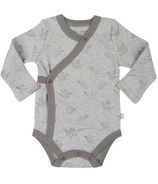 Finn & Emma Long Sleeve Bodysuit Origami