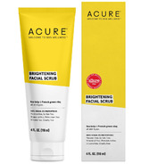 Acure Brightening Facial Scrub Sea Kelp & French Green Clay