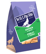 Williwaw Chicken and Cheese Wheat-Free Natural Dog Biscuits
