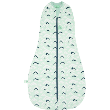ergoPouch ErgoCocoon 1.0 Tog Organic Swaddle Sleep Bag Moutains