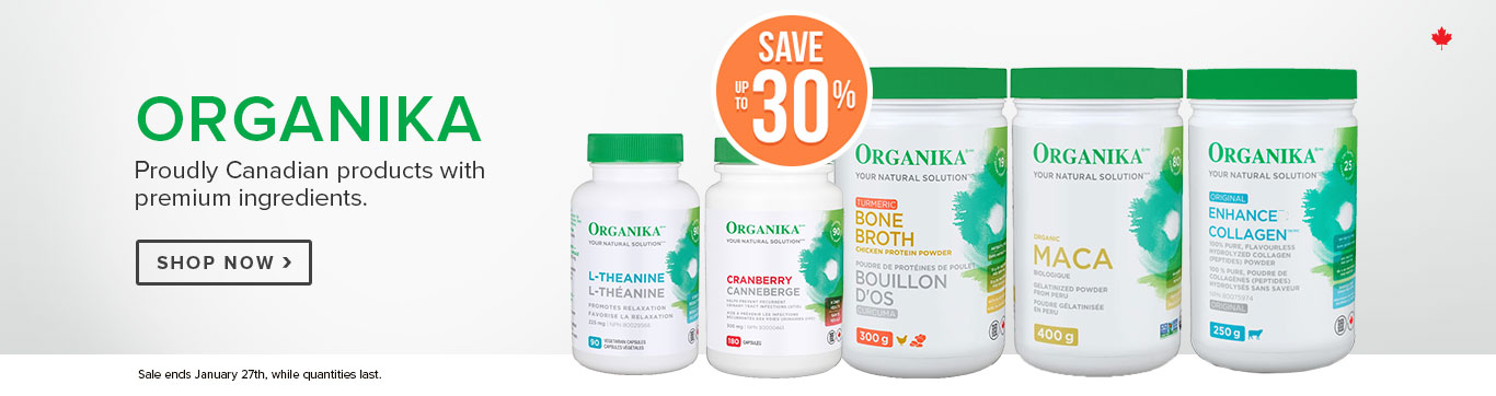 Save up to 30% on Organika
