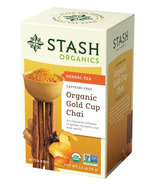 Stash Organic Gold Cup Chai With Turmeric