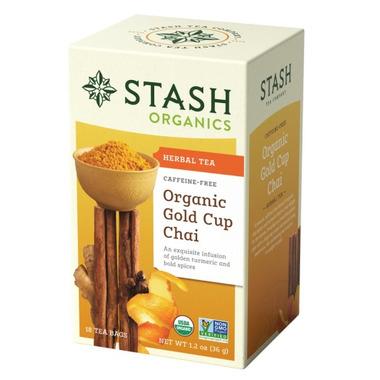 Stash Organic Gold Cup Chai With Turmeric