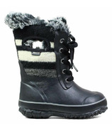 Bogs Arcata Lace Wool Insulated Boots Stripe Black Multi