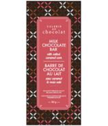 Galerie au Chocolat Milk Chocolate with Salted Caramel Corn Bar
