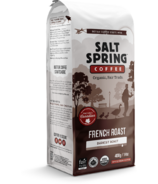 Salt Spring Coffee French Roast Darkest Roast Whole Bean Coffee
