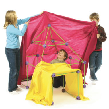 Crazy Forts Glow-In-The-Dark Kit