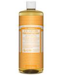 Dr. Bronner's Organic Pure Castile Liquid Soap Citrus Orange 32 Oz