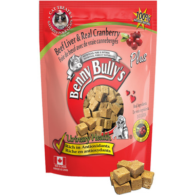 Benny Bully\'s Beef Liver Plus Cranberry Cat Treats