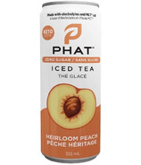 Phat Iced Tea With Electrolytes and MCT Oil Heirloom Peach