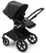Bugaboo Fox2 Complete Black & Washed Black Mineral Collection
