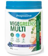 Progressive VegeGreens Formule multivitaminée pour adultes