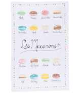 Now Designs Les Macarons Print Tea Towel
