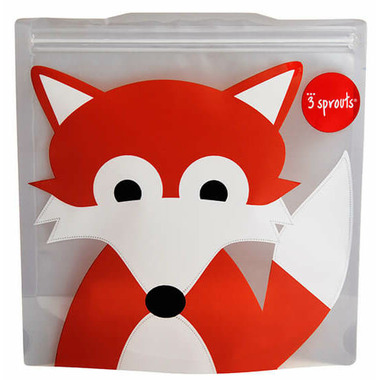 3 Sprouts Sandwich Bag Fox