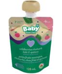 Baby Gourmet Plus Wildberries Rhubarb Kale and Quinoa Organic Baby Food