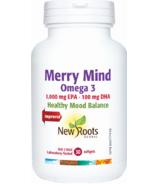 New Roots Herbal oméga 3 Merry Mind