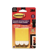 Command Removable Interlocking Medium Fasteners