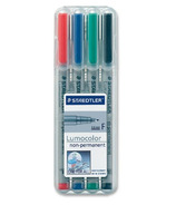 Staedtler Lumocolor Fine Point Waterbased Markers