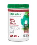 Organika Beef Bone Broth Protein Powder Original Bonus Size