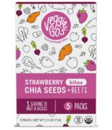Veggie Go's Strawberry, Chia and Beet Bites