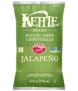 Chips de pommes de terre Kettle Jalapeno