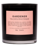 Boy Smells Candle Gardener