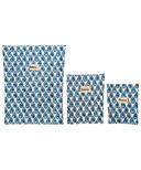 BeeBAGZ Beeswax Bags Starter Pack Blue
