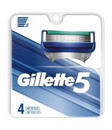 Gillette5 Men's Razor Blade Refills 4 Count